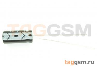Конденсатор электролитический 220мкФ 10В 20% 105°C (5х11мм)