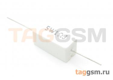 Резистор постоянный 5Вт 1 Ом 5% (SQP-5W-1R)