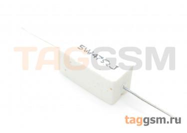 Резистор постоянный 5Вт 47 Ом 5% (SQP-5W-47R)