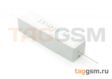 Резистор постоянный 15Вт 1 кОм 5% (SQP-15W-1K)