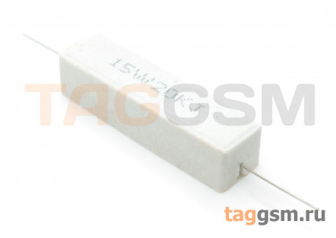 Резистор постоянный 15Вт 20 кОм 5% (SQP-15W-20K)