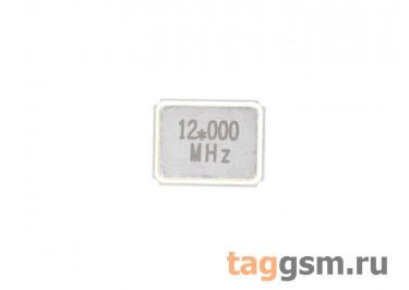 Кварцевый резонатор 12 МГц (SMD3225)