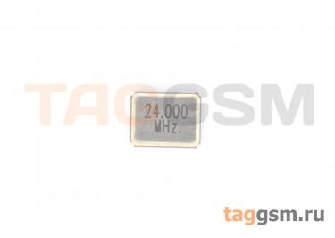 Кварцевый резонатор 24 МГц (SMD3225)
