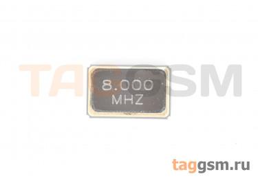 Кварцевый резонатор 8 МГц 4-конт. (SMD5032)