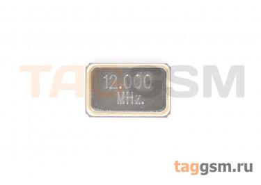 Кварцевый резонатор 12 МГц 4-конт. (SMD5032)