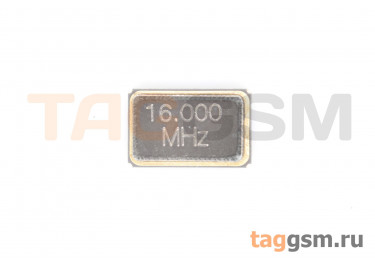 Кварцевый резонатор 16 МГц 4-конт. (SMD5032)