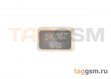 Кварцевый резонатор 24 МГц 4-конт. (SMD5032)