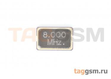 Кварцевый резонатор 8 МГц 2-конт. (SMD5032)
