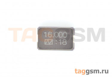 Кварцевый резонатор 16 МГц 2-конт. (SMD5032)