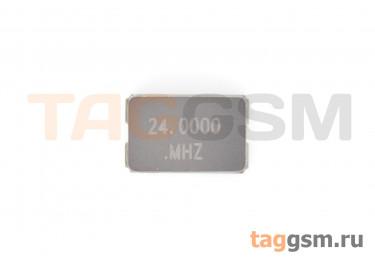 Кварцевый резонатор 24 МГц 2-конт. (SMD5032)