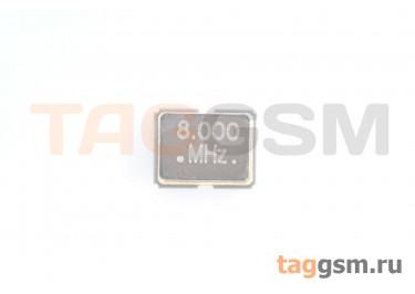 Кварцевый генератор 8 МГц 3,3В (SMD3225)
