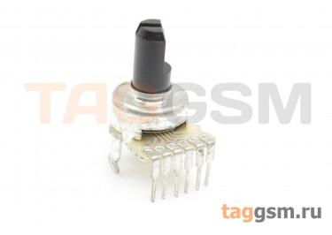 R1212G-B503-20F Резистор переменный сдвоенный 50 кОм 20% тип-B