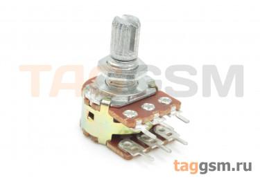 R148G-B102-15KQ-D Резистор переменный сдвоенный 1 кОм 20% тип-B