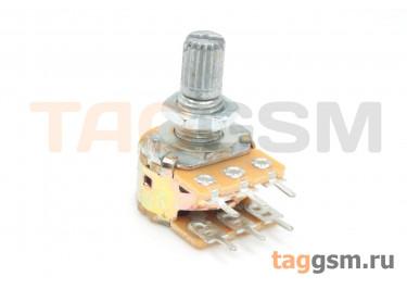 R148G-B103-15KQ-D Резистор переменный сдвоенный 10 кОм 20% тип-B