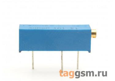 3006P-101 Резистор подстроечный многооборотный 100 Ом 10%