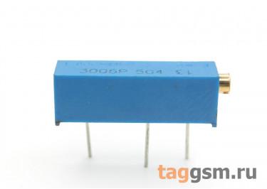 3006P-504 Резистор подстроечный многооборотный 500 кОм 10%