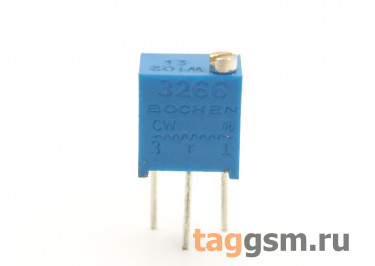 3266W-102 Резистор подстроечный многооборотный 1 кОм 10%