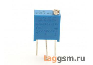 3266W-104 Резистор подстроечный многооборотный 100 кОм 10%