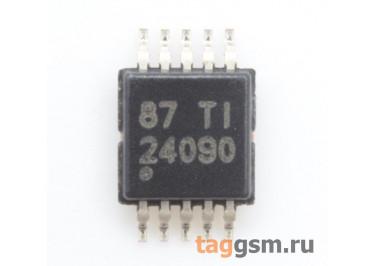 BQ24090DGQR (MSOP-10-EP) Контроллер заряда Li-Ion Li-Pol батареи