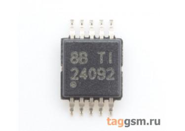 BQ24092DGQR (MSOP-10-EP) Контроллер заряда Li-Ion батареи