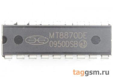 MT8870DE (DIP-18) DTMF декодер