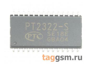 PT2322S (SO-28) Аудиопроцессор