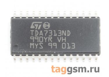 TDA7313ND (SO-28) Аудиопроцессор