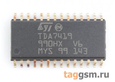 TDA7419 (SO-28) Аудиопроцессор