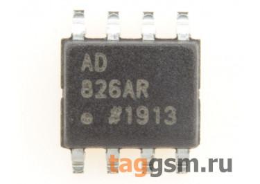 AD826ARZ (SO-8) Сдвоенный высокоскоростной операционный усилитель