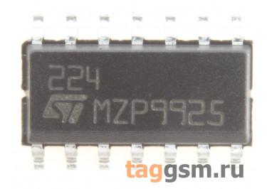 LM224D (SO-14) Счетверённый операционный усилитель