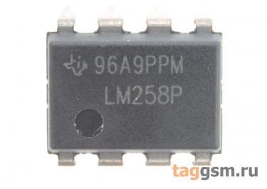 LM258P (DIP-8) Сдвоенный операционный усилитель