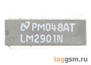 LM2901NG (DIP-14) Счетверённый операционный усилитель