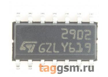 LM2902D (SO-14) Счетверённый операционный усилитель
