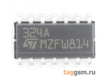 LM324AD (SO-14) Счетверённый операционный усилитель