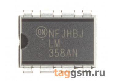 LM358AN (DIP-8) Операционный усилитель