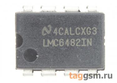 LMC6482IN (DIP-8) Сдвоенный операционный усилитель