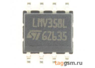 LMV358LIDT (SO-8) Сдвоенный операционный усилитель