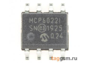 MCP6022T-I / SN (SO-8) Сдвоенный операционный усилитель