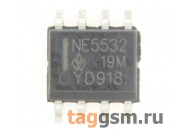 NE5532D (SO-8) Сдвоенный малошумящий операционный усилитель