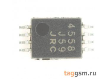 NJM4558V-TE1 (TSSOP-8) Сдвоенный операционный усилитель