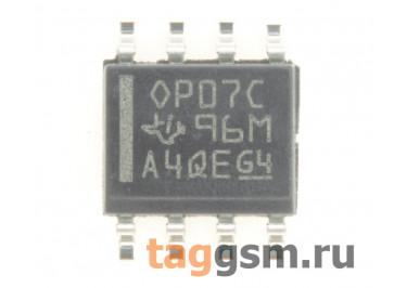 OP07CD (SO-8) Одноканальный прецизионный операционный усилитель