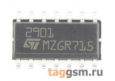 LM2901DT (SO-14) Счетверенный компаратор