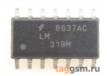 LM319MX (SO-14) Cдвоенный компаратор