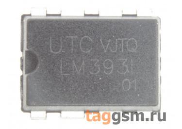 LM393N (DIP-8) Cдвоенный компаратор