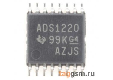 ADS1220IPWR (TSSOP-16) АЦП 24-бит 2кГц 4-канала