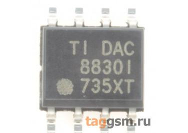 DAC8830IDR (SO-8) ЦАП 16-бит 1МГц 1-канал