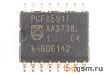 PCF8591T (SO-16W) Кодек 4-канала АЦП 1-канал ЦАП I2C