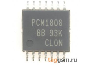 PCM1808PWR (TSSOP-14) АЦП 24-бита 96кГц 2-канала