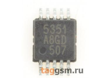 Si5351A-B02075-GT (MSOP-10) Генератор тактовых импульсов I2C