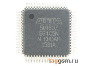 5M160ZE64C5N (TQFP-64-EP) MAX V CPLD